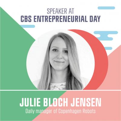 Speaker Julie Bloch Jensen
