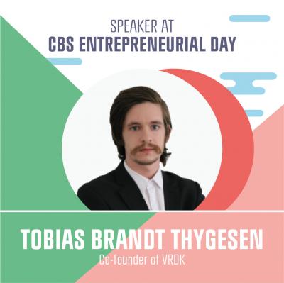 Speaker Tobias Brandt Thygesen