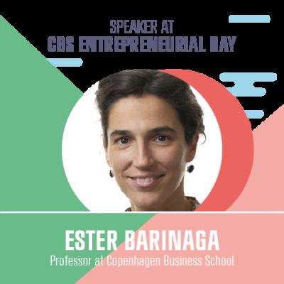 Speaker Ester Barinaga