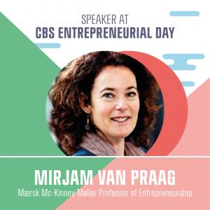 Speaker Mirjam Van Praag